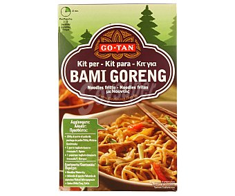 Go-tan Fideo indonesio Bami Goreng kit Estuche 330 g