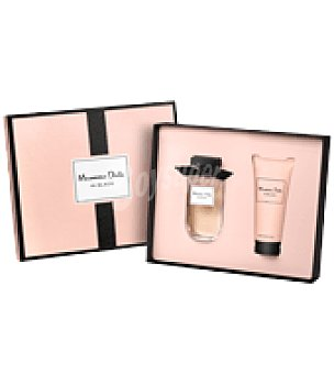 Massimo Dutti Estuche de colonia spray 80 ml. + body lotion 100 ml. In Black 1 ud