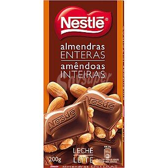 Nestlé Chocolate con leche-almendras Tableta 200 g