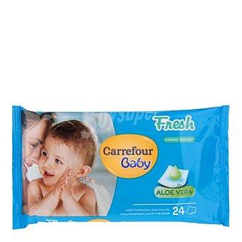 Carrefour Baby Toallita con Aloe Vera 24 ud
