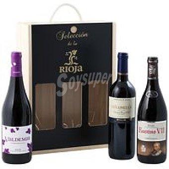 D.O.C. Rioja VINALI Vino Seleción Especial Pack 3x75 cl