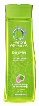 Herbal Essences Champú brillo radiante con extractos de Perlas Brillantes y Rosa para cabello normal frasco 300 ml + acondicionador frasco 250 ml Frasco 300 ml