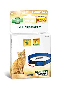 Purina Friskies Collar antiparásito azul gato 1 ud