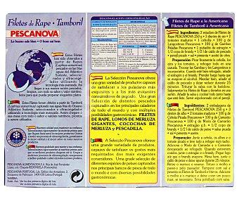 Pescanova Filetes de Rape 250 Gramos