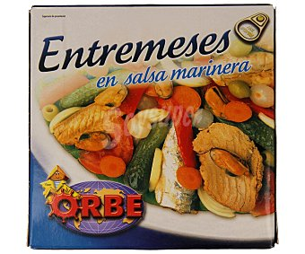 Orbe Entremeses en salsa marinera 172 gramos