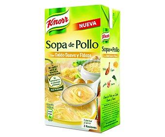 Knorr Sopa de pollo con fideos Brik 500 ml
