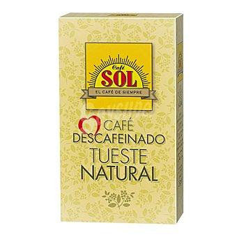 Tirma Café molido natural descafeinado 250 g