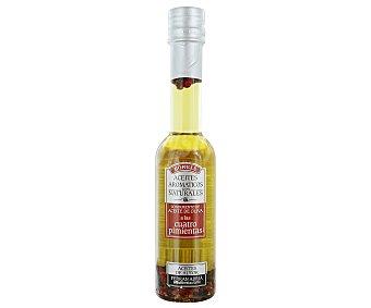 Borges Condimento de aceite de oliva a las 4 pimientas (blanca, negra, rosa y sechuan) 200 mililitros