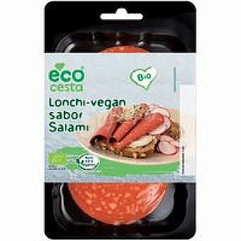 Ecocesta Lonchi-vegan sabor salami Bandeja 100 g