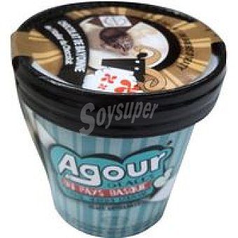 AGOUR Helado de chocolate du chocolat Tarrina 125 ml