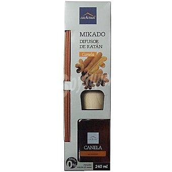 CASACTUAL Mikado Ambientador en varillas aromáticas Canela 240 ml