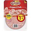 chopped pork en lonchas envase 300 g ElPozo