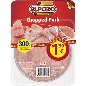 ELPOZO chopped pork en lonchas envase 300 g
