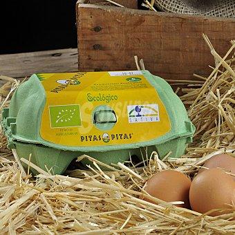 Pitas Huevos ecológicos 6 unidades