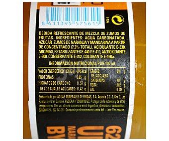 Firgas Refresco de naranja con gas Urban Botella 62 cl