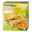 Barritas de cereales con albaricoque 125 g Carrefour
