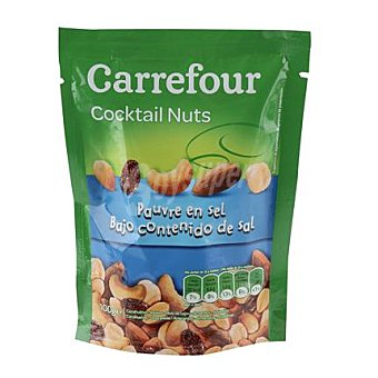 Carrefour Cocktail frutos secos bajo en sal 100 g