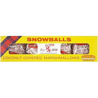 TUNNCOCK'S Snowballs Marshmallows cubiertos de coco Paquete 120 g