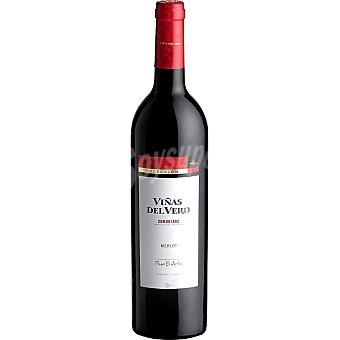 Viñas del Vero Vino tinto Merlot D.O. Somontano Botella 75 cl
