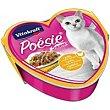 Pollo en salsa con verdura para gato Lata 85 g Poésie Vitakraft