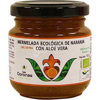 Las coronas mermelada de naranja con aloe vera ecológica tarro 155 g