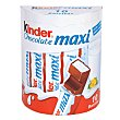 Barritas de chocolate con leche extrafino Pack 10 x 21 g Kinder