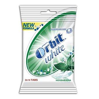 White Chicle tabs sabor hierbabuena paquete 2 uds Paquete 2 uds
