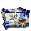 Mini barquillo con leche y crema de avellana sin lactosa 100 g Minus l