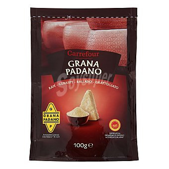 Carrefour Queso rallado Italiano Grana Padano Bolsa de 100 g