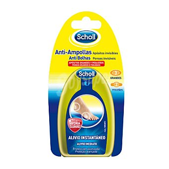 Scholl Apósitos Anti Ampollas Grandes y Pequeños 5 ud