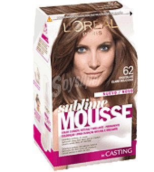 Sublime Mousse L'Oréal Paris Tinte nº 62 1 ud