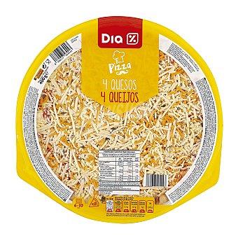 DIA Pizza 4 quesos Envase 400 gr