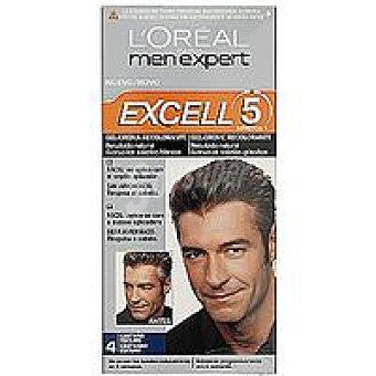 EXCELL 5 Men Tinte castaño oscuro N.4 Caja 1 unid