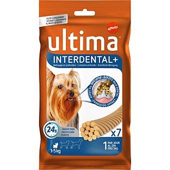 Ultima Affinity Interdental stick dental para perros mini 7 unidades envase 70 g 5-10 kg