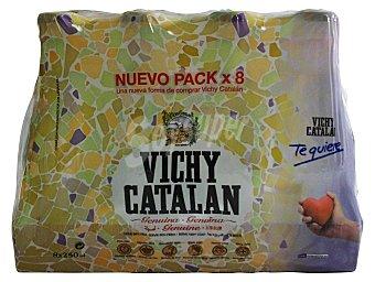 Vichy Catalan Agua con gas Botellin pack 8 x 250 cc - 2 l