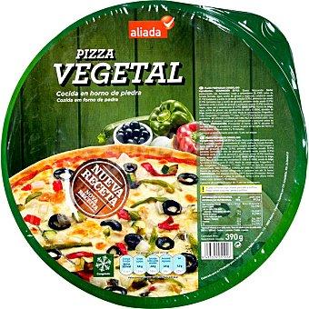 ALIADA Pizza vegetal cocida en horno de piedra  envase 390 g