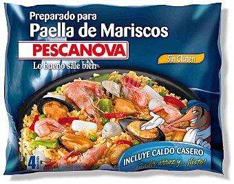 PESCANOVA Preparado para paella de marisco bandeja 500 g