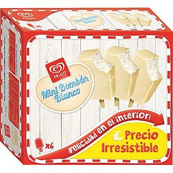 Frigo Mini bombón de chocolate blanco 6 unidades estuche 438 ml 6 unidades