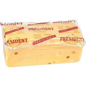 President Queso emmental francés en barra Al peso 1 kg