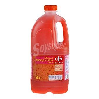 Carrefour Zumo de naranja y fresa Carrefour Botella 2 l