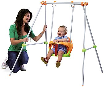 SMOBY Baby Swing Columpio infantil de 180cm, Baby Swing, SMOBY.
