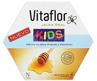 VITAFLOR Kids, complemento a base de Jalea Real y vitaminas 20 Ampollas