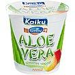 Yogur con trozos de aloe vera con sabor a mango 150 g Kaiku