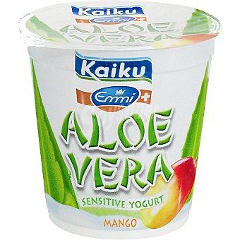 Kaiku Yogur con trozos de aloe vera con sabor a mango 150 g
