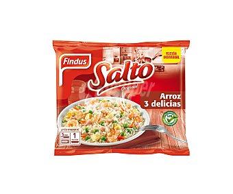 Findus Salto arroz 3 delicias tradicional Bolsa 500 gr