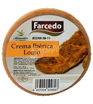 Farcedo Crema ibérica lomo 160 g