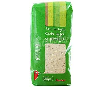 Auchan Pan Rallado Con Ajo Y Perejil 500 gramos