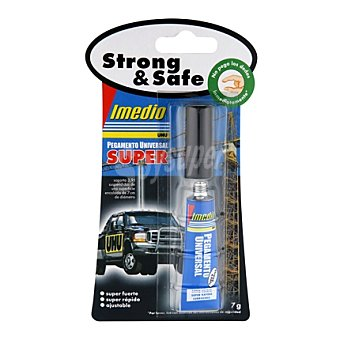 STRONG & SAFE Pegamento 7 gr 1 ud