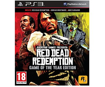 ROCKSTAR GAMES Red Dead Redemption Ps3 1 Unidad