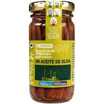 Eroski Anchoa en aceite de oliva Frasco 55 g